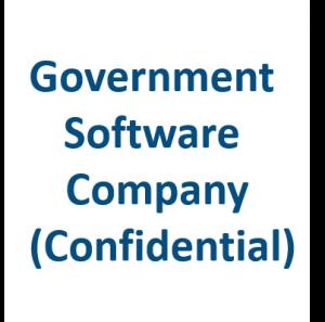 Government Software Company Confidential