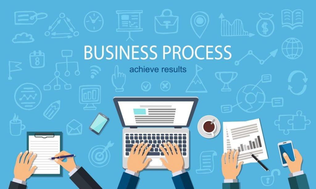 Business process image